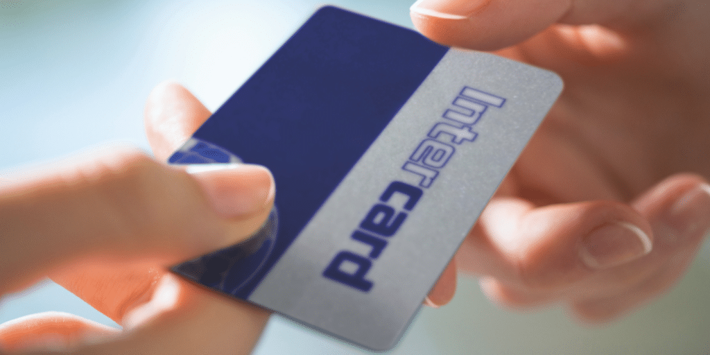 plastic card size